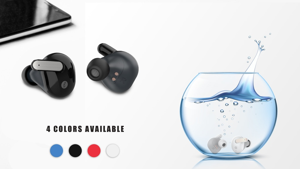 Reinvented Waterproof TWS Wireless Sports Earbuds